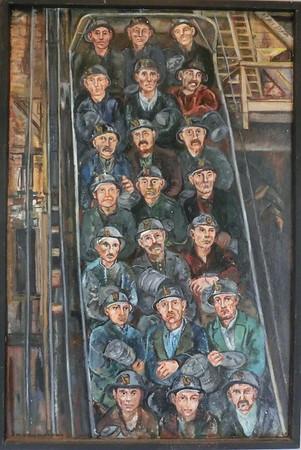 Miners descending