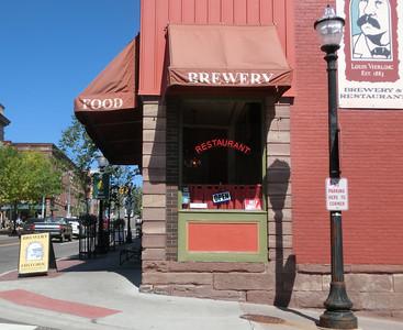 Historiskt bryggeri och restaurang
