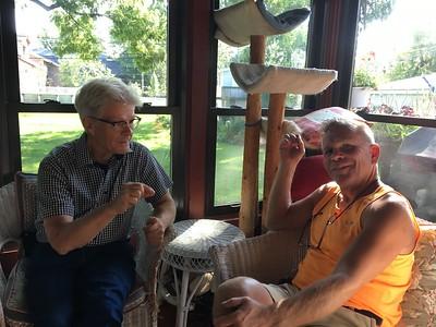 Hos Carol Larson i villan i  Norwood Park, Chicago