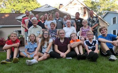 John och Louise Nordengrens familj