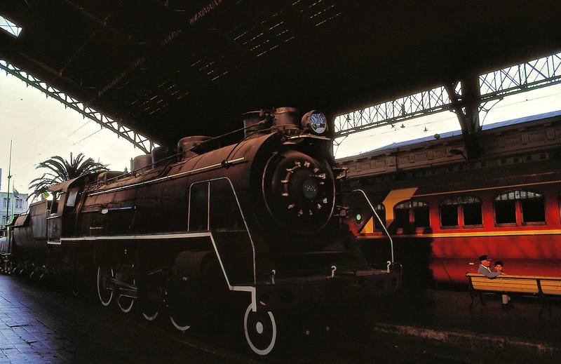 Gare de Santiago, version historique