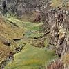 Petit canyon sur la route du Chimborazo