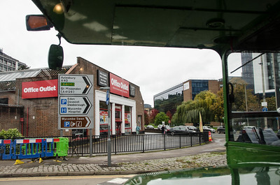 Office Outlet now occupies the building that was once High Wycombe bus garage as seen from RML2456