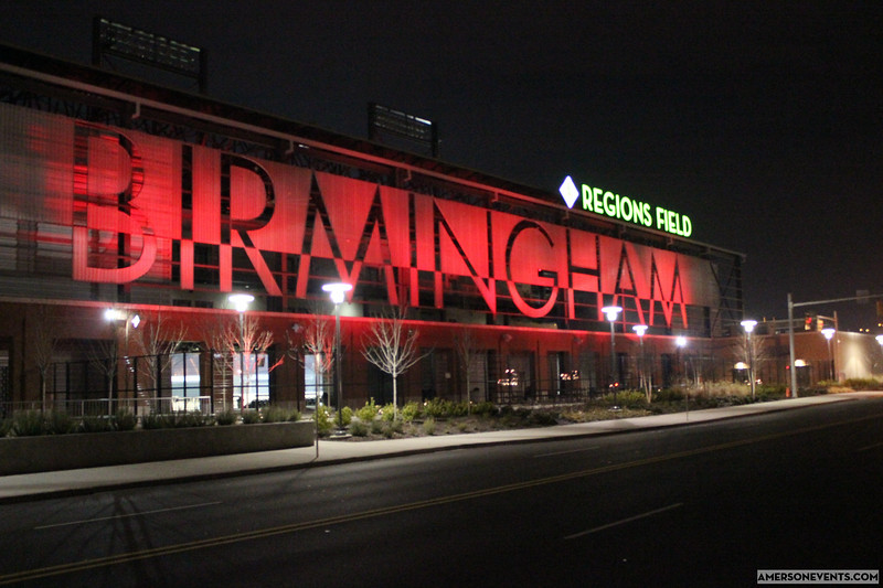 Birmingham Barons Go Red for American Heart Association at Regions Field with Amerson Events