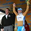 IMG_2953 Governor Arnold Schwarzenegger and Prologue Winner Levi Leipheimer