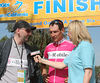 IMG_3732 Stage winner Olaf Pollack, with translator, is interviewed for ESPN2