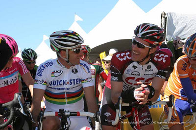 0380 Paolo Bettini and Fabian Cancellara