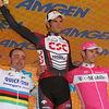 0595 Stage 6 Podium - JJ Haedo, Greg Henderson and Paolo Bettini