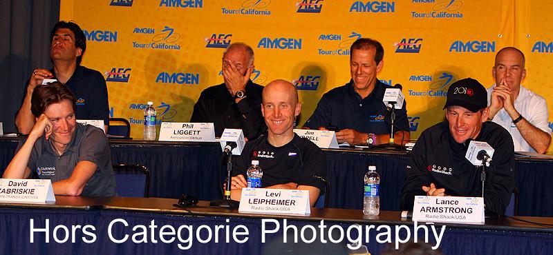 2010 Pre-Race Press Conference in Sacramento