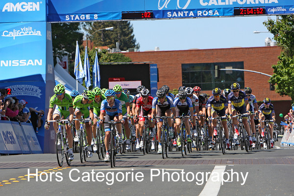 2013 Stage 8 - Finish in Santa Rosa