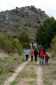Camino al Cerro de la Mora