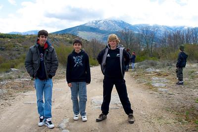 Los tres mosqueteros.