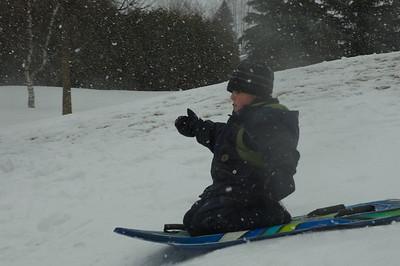 Glissade Boucherville 23 fevrier 2013