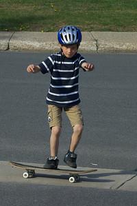 Maitre du skateboard, voisin