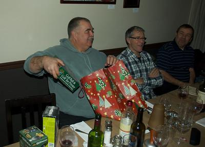 Souper de Noel des boys 2011