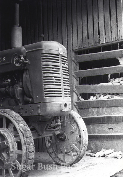 McCormick Steel Wheeled Amish Tractor