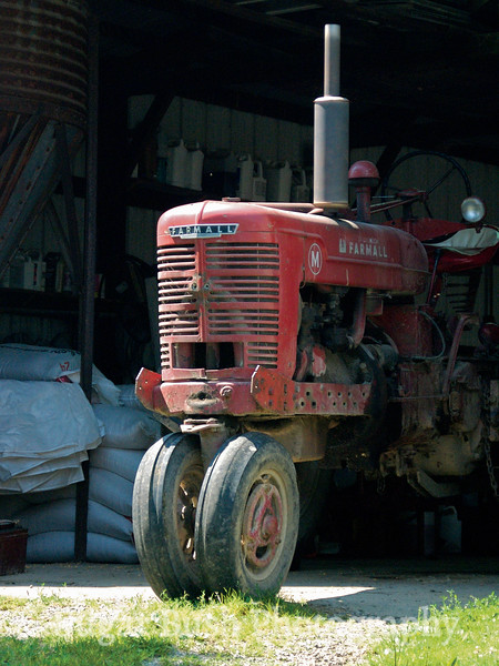 Farmall M Tricycle Tractor