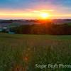 Sunset over Walnut Creek, Ohio