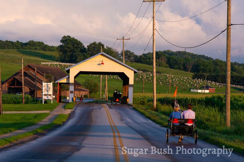 Stutzman's Covered Bridge - Walnut Creek