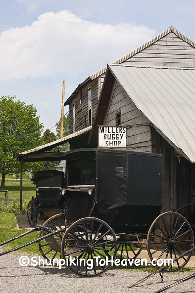Millers Buggy Shop, Holmes County, Ohio
