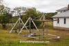 Playground Equipment at Amish School, Columbia County, Wisconsin