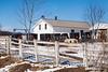 Buggies at Amish School, Green Lake County, Wisconsin