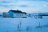 Amish School in Winter, Vernon County, Wisconsin