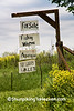 "Amish ""For Sale"" Sign, Lafayette County, Wisconsin"