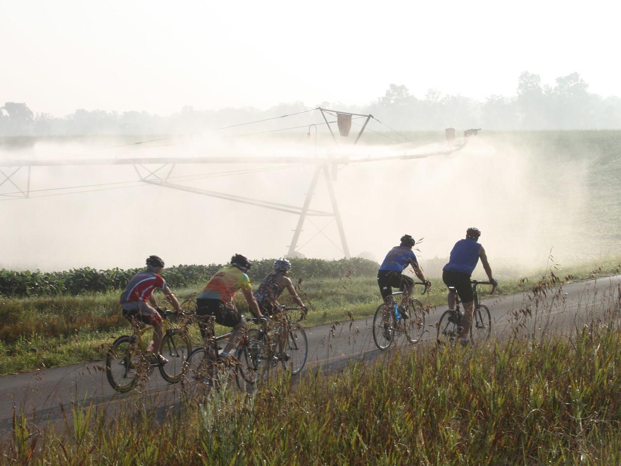 Cooling mist