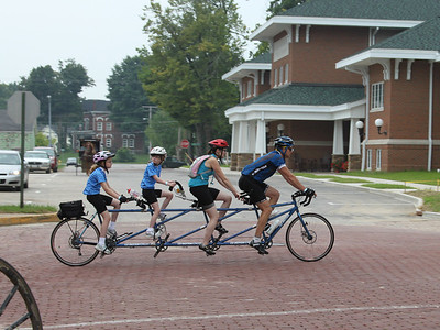 Bicycle built for four