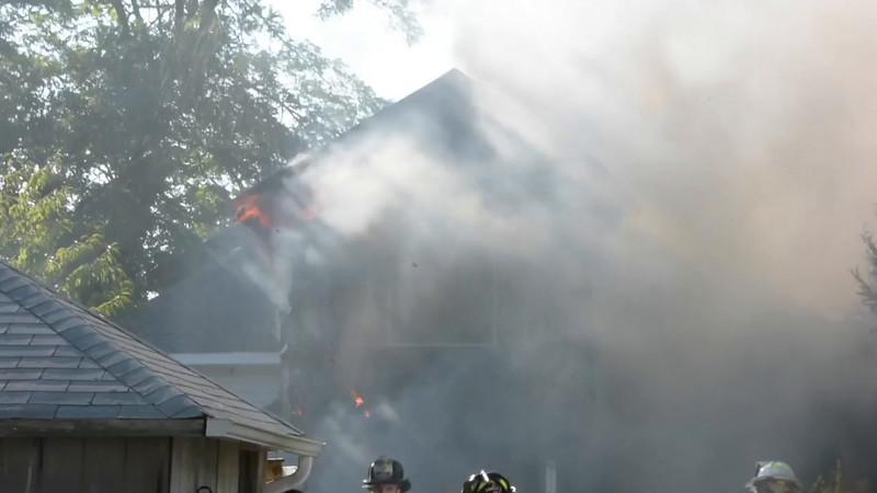 Amityville House Fire- Paul Mazza