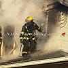 Amityville F D  House Fire 58 Park Avenue 2-22-15-12