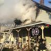 Amityville F D  House Fire 58 Park Avenue 2-22-15-4