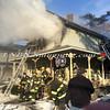Amityville F D  House Fire 58 Park Avenue 2-22-15-1