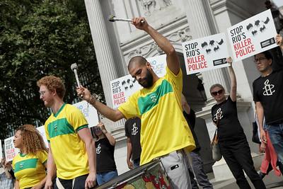 Amnesty Rio stunt