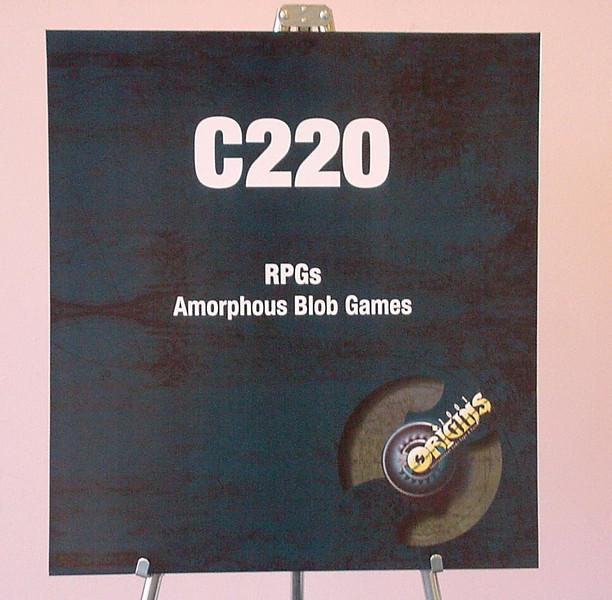 Origins 2001