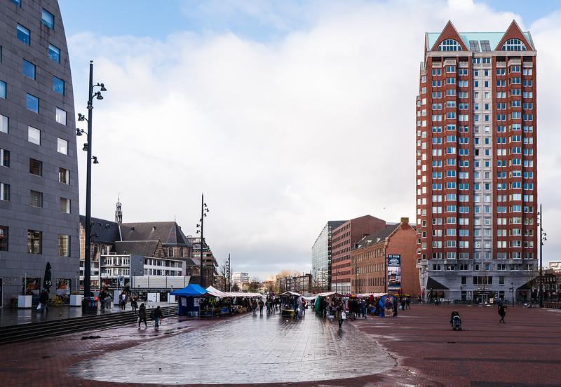 Markt hinter der Markthal