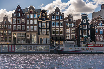 Amsterdam Crooked Houses