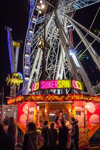King's Day carnival at Dam Square