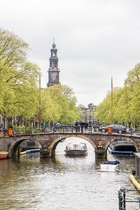 Nieuwe Kerk from Prinsengracht