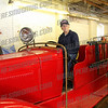 "Bill ""Tex"" Armstrong sits in his old 1932 Ford Model ""AA"""
