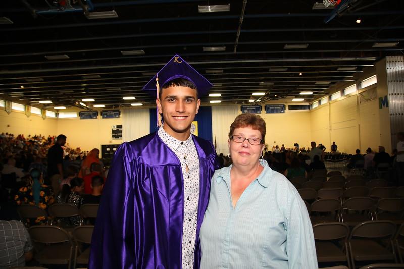 Ka-Shon Nasir Tuff and his Step-Grandmother Donna Valentin