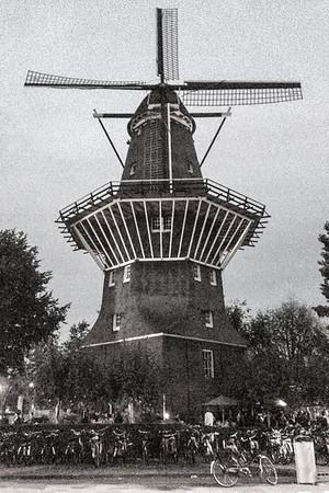 The historic windmill at Brouerij 't IJ