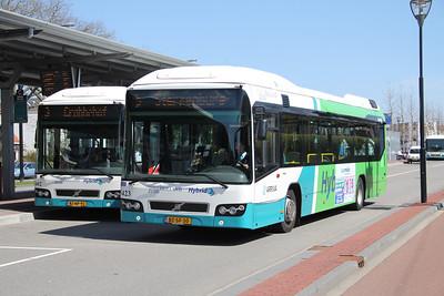 Arriva Nederland 5402_5423 Dordrecht Bus Station Apr 13