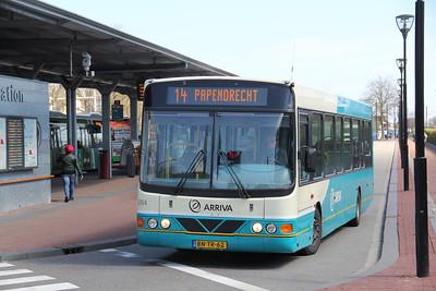 Arriva Nederland 6264 Dordrecht Bus Station Apr 13
