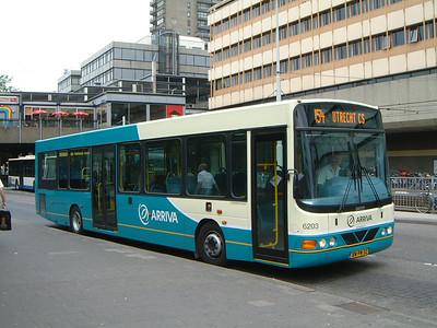 Arriva Nederland 6203 Utrecht Bus Stn Jul 03