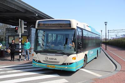 Arriva Nederland 8078 Dordrecht Bus Station Apr 13