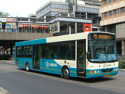Arriva Nederland 6254 Utrecht Bus Stn Jul 03