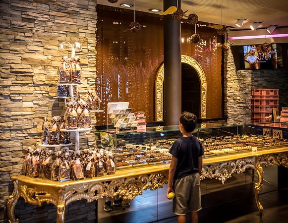 Chocolate Shop in Lucerne, Switerland
