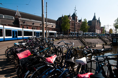 Amsterdam City Train Station